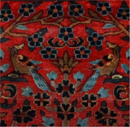 Antique Sarouk Carpet - The Tree of Life