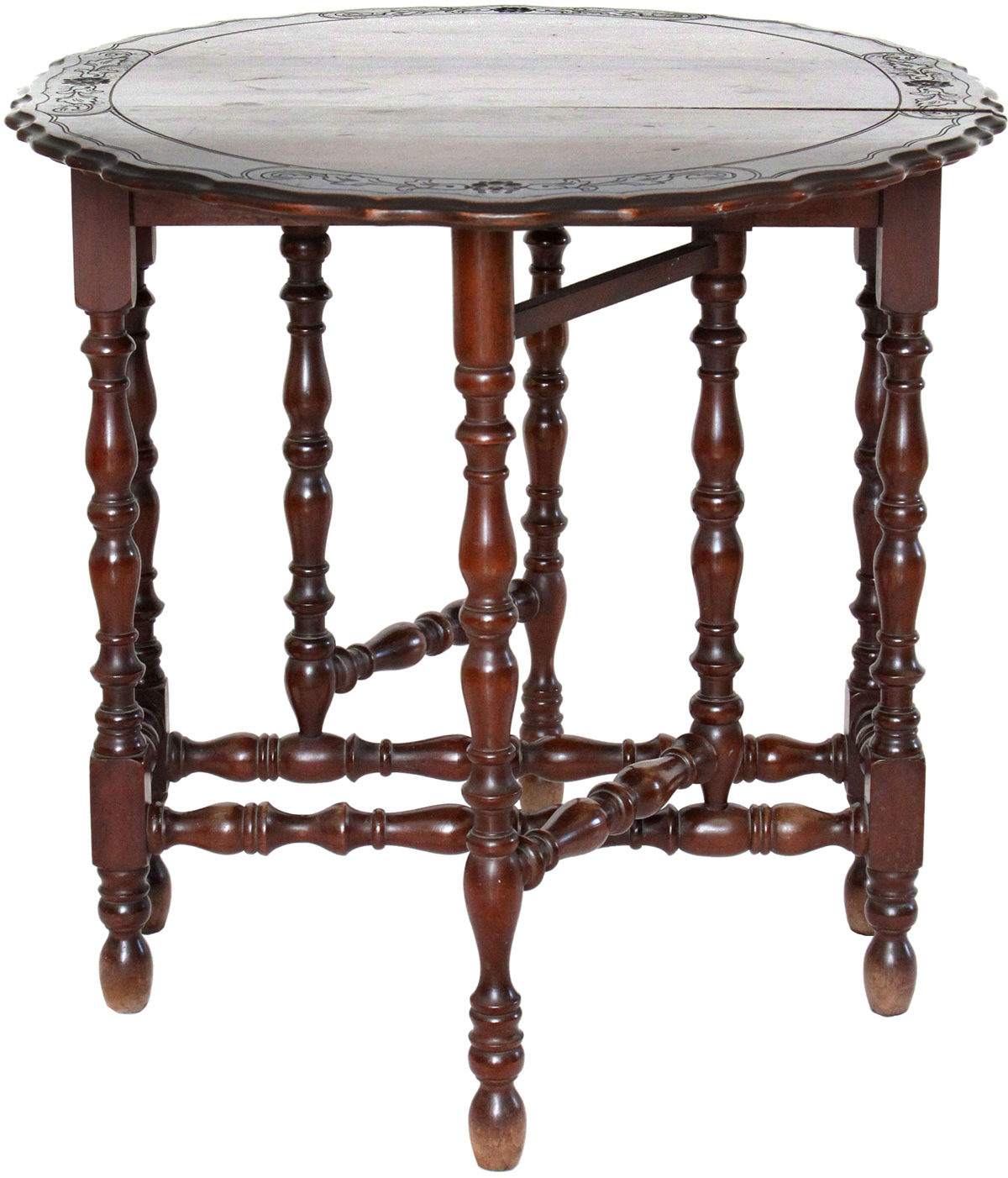 Victorian furniture table - Antique Victorian Gate Leg Table